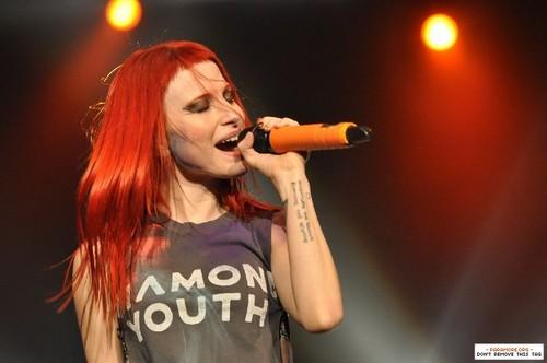 Paramore live at Centerpoint Studio, Bangkok, Thailand 12022013