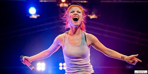 paramore live at Soundwave - Bonython Park, Adelaide, Australia 02032013