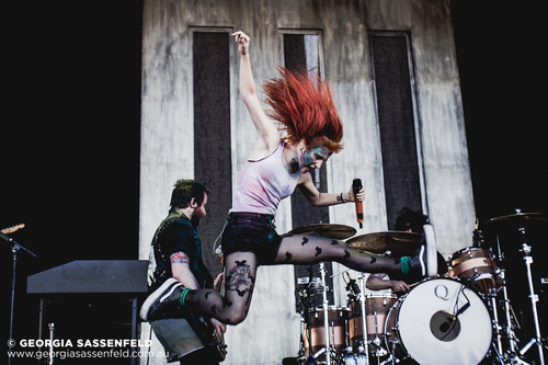 Paramore live at Soundwave - Claremont Showground, Perth, Australia 04032013
