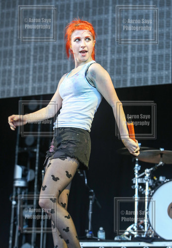 Paramore live at Soundwave - Olympic Park, Brisbane, Australia 23022013