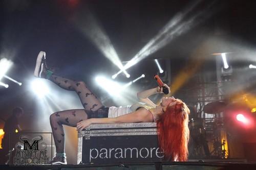 Paramore live at Soundwave - Olympic Park, Sydney, Australia 24022013