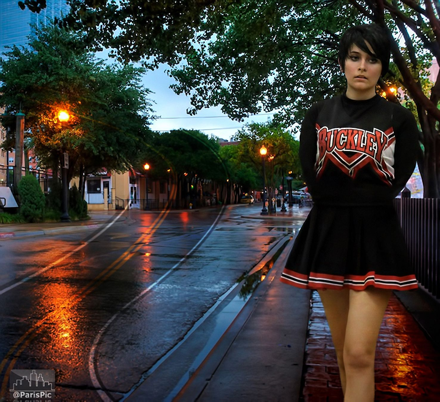 Paris Jackson Lonely Cheerleader (@ParisPic)