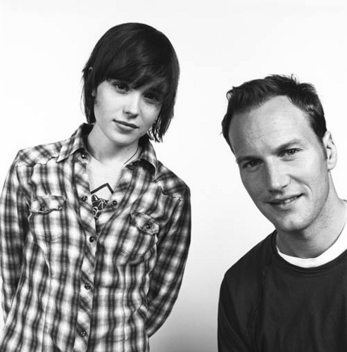 Patrick Wilson and Ellen Page (I amor this one)