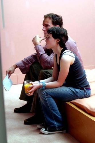 Patrick Wilson and Ellen Page
