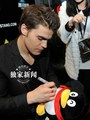 Paul Wesley in China - the-vampire-diaries-actors photo