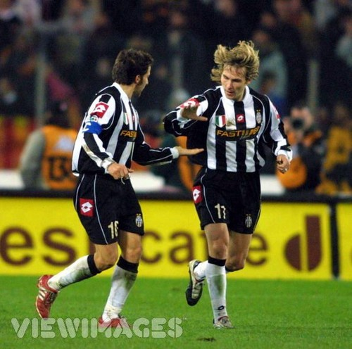 Pavel Nedved and Del Piero