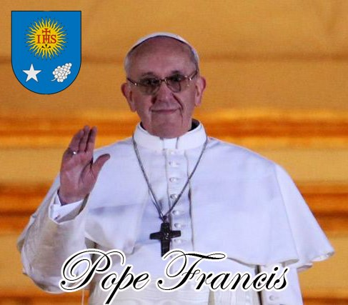 Pope Francis, the new Pope of the Roman Catholic Church!