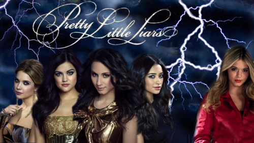 Pretty Little Liars TV دکھائیں پیپر وال probably containing a portrait entitled Pretty Little Liars