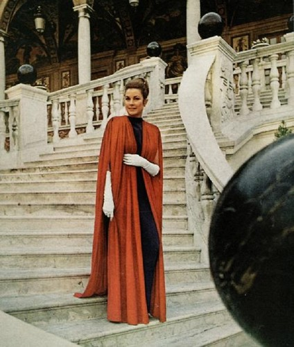 Princess Grace at the Monaco's Palace.
