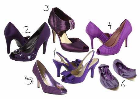 Purple Pumps