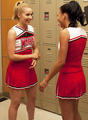Quinn &amp; Santana  - glee photo