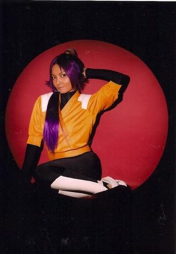 RMB: Kumiko Saitou as Yoruichi Shihouin