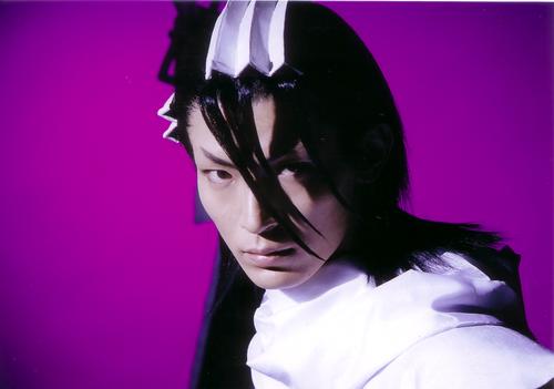 RMB: Shuuji Hayashi as Byakuya Kuchiki