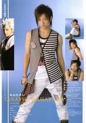 RMB: Takashi Nagayama as Toushiro Hitsugaya