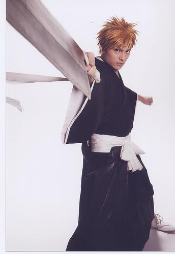 RMB: Tatsuya Isaka as Ichigo Kurosaki