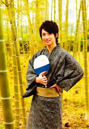 RMB: Yuuya Kido as Toushiro Hitsugaya