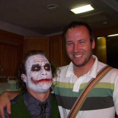 Rare foto of Heath/Joker