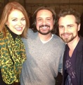 Rider Strong, Will Friedle & Maitland Ward - boy-meets-world photo