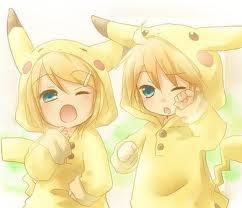 Rin and Len! Kawaii!