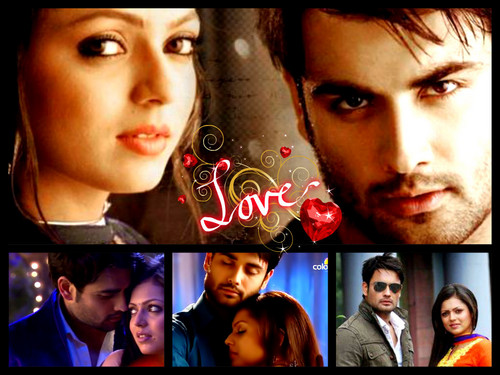 Madhubala- ek ishq ek junoon wallpaper probably containing a sign titled Rk <3 vIVian Dsena <3