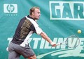 Roman Jebavy funny tongue - tennis photo