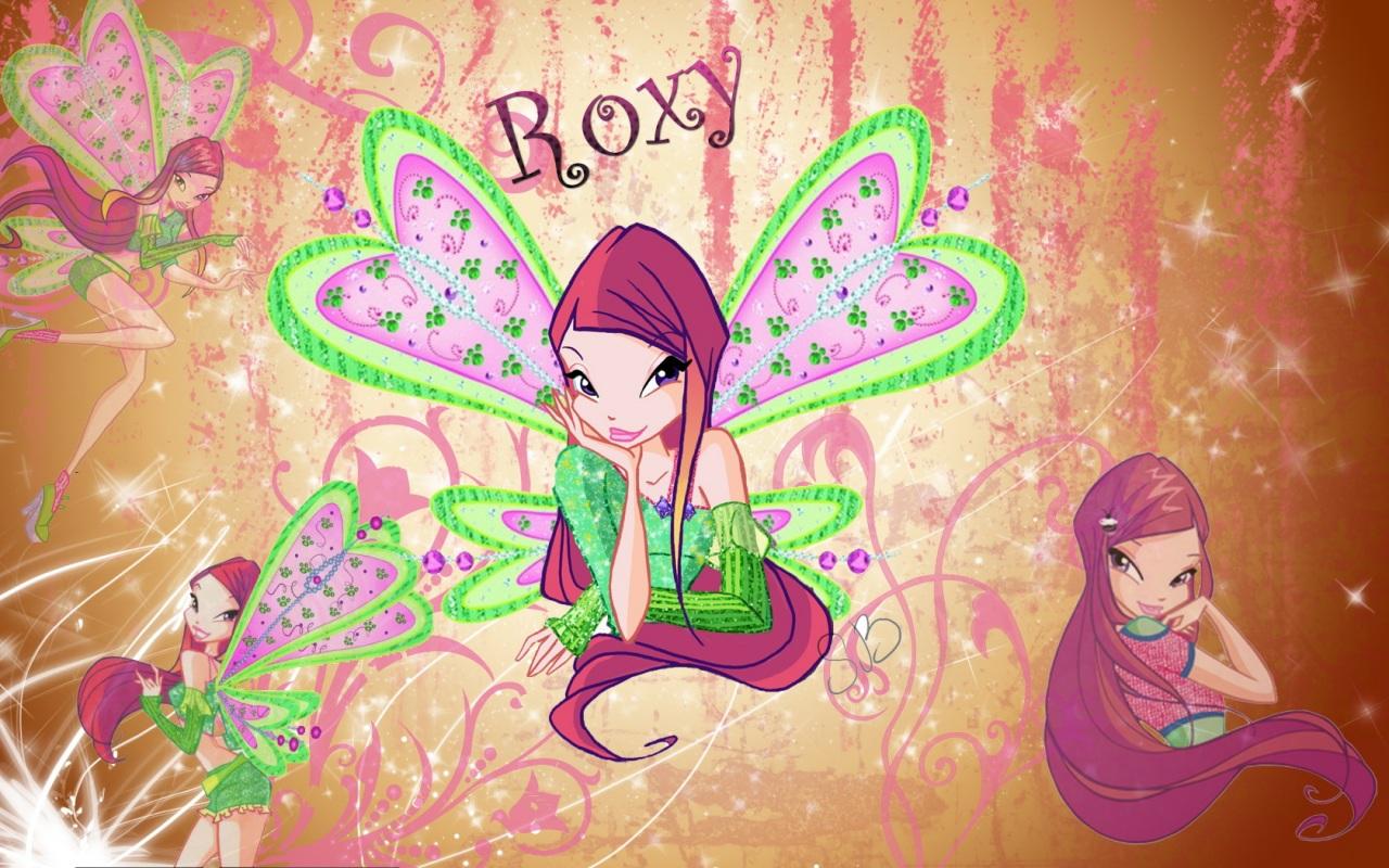 roxy the winx club wallpaper 33999503 fanpop