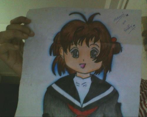 Sakura によって me!!! (my own drawing)