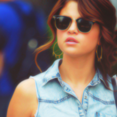 Selena Gomez karatasi la kupamba ukuta containing sunglasses called Sena Gomez ikoni <33