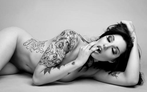 Sexy tattoo wallpaper