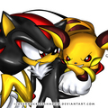 Shadow And Raichu - sonic-the-hedgehog photo
