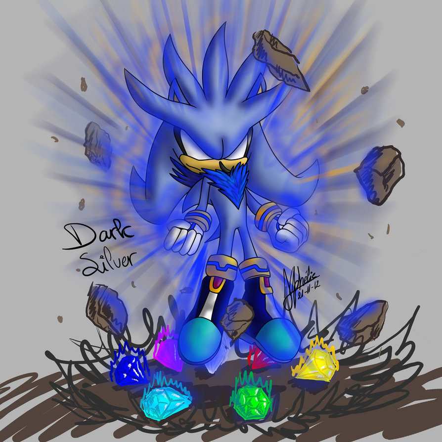 Silver And The Chaos Emeralds Silver The Hedgehog Photo