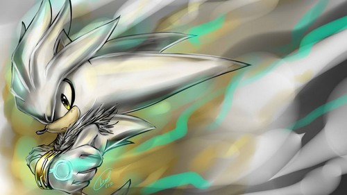 Sonic The Hedgehog Silvers Awesome Wrath