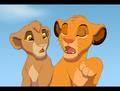 Simba and Tama