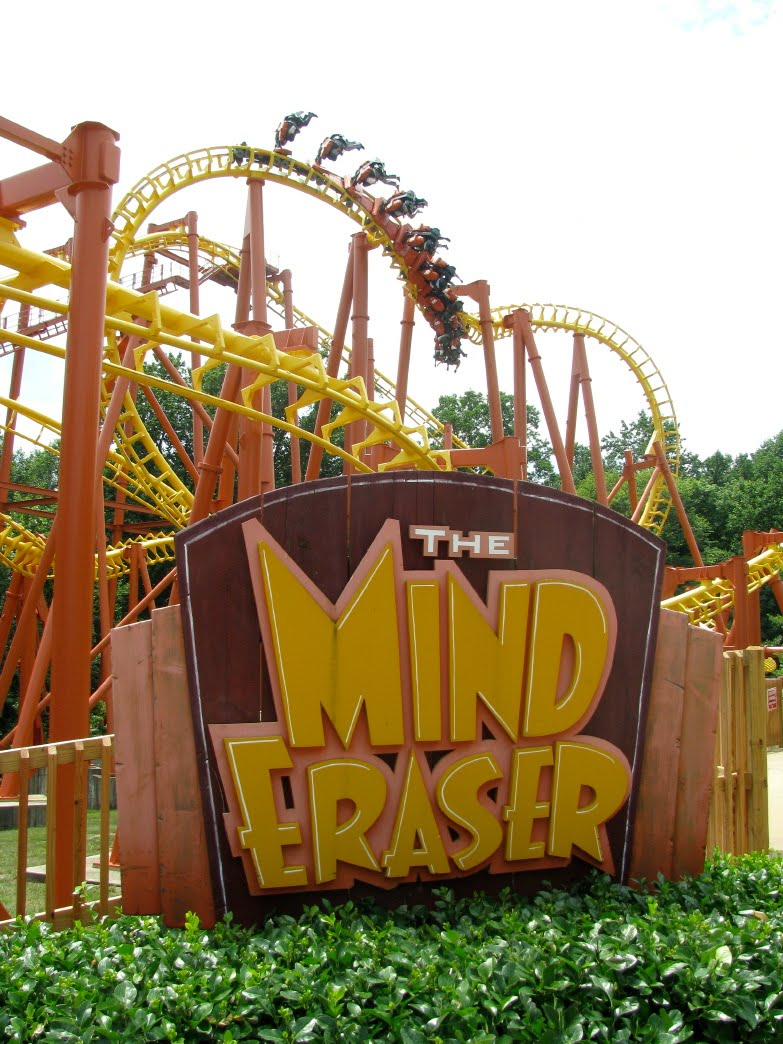 Rollercoasters images Six Flags America Mind Eraser HD wallpaper and ...