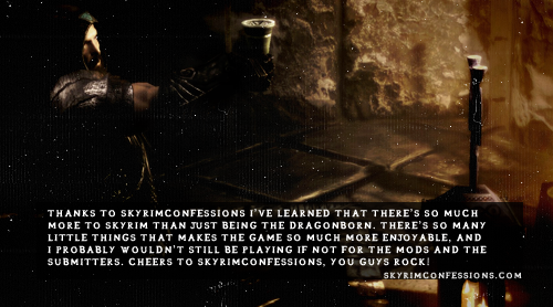 Skyrim Confessions