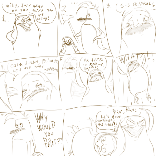 Some sort of comic :P Part 1