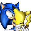 Sonic And Pikachu - sonic-the-hedgehog photo