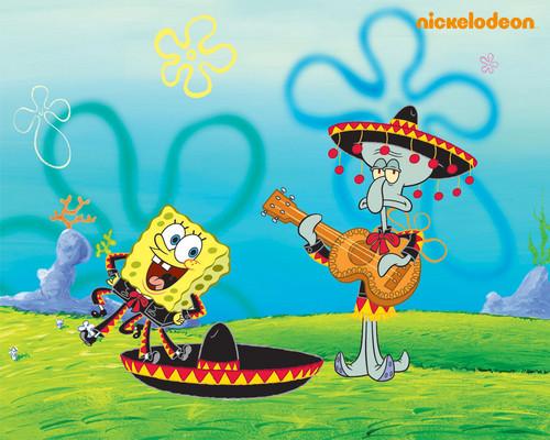 SpongeBob SquarePants hình nền with anime called Spongebob Schwammkopf