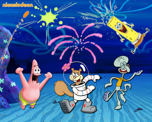 Spongebob Squarepants wallpaper probably with anime called Spongebob Schwammkopf