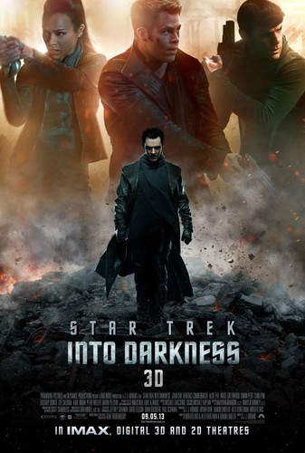 سٹار, ستارہ Trek Into Darkness One Sheet Poster