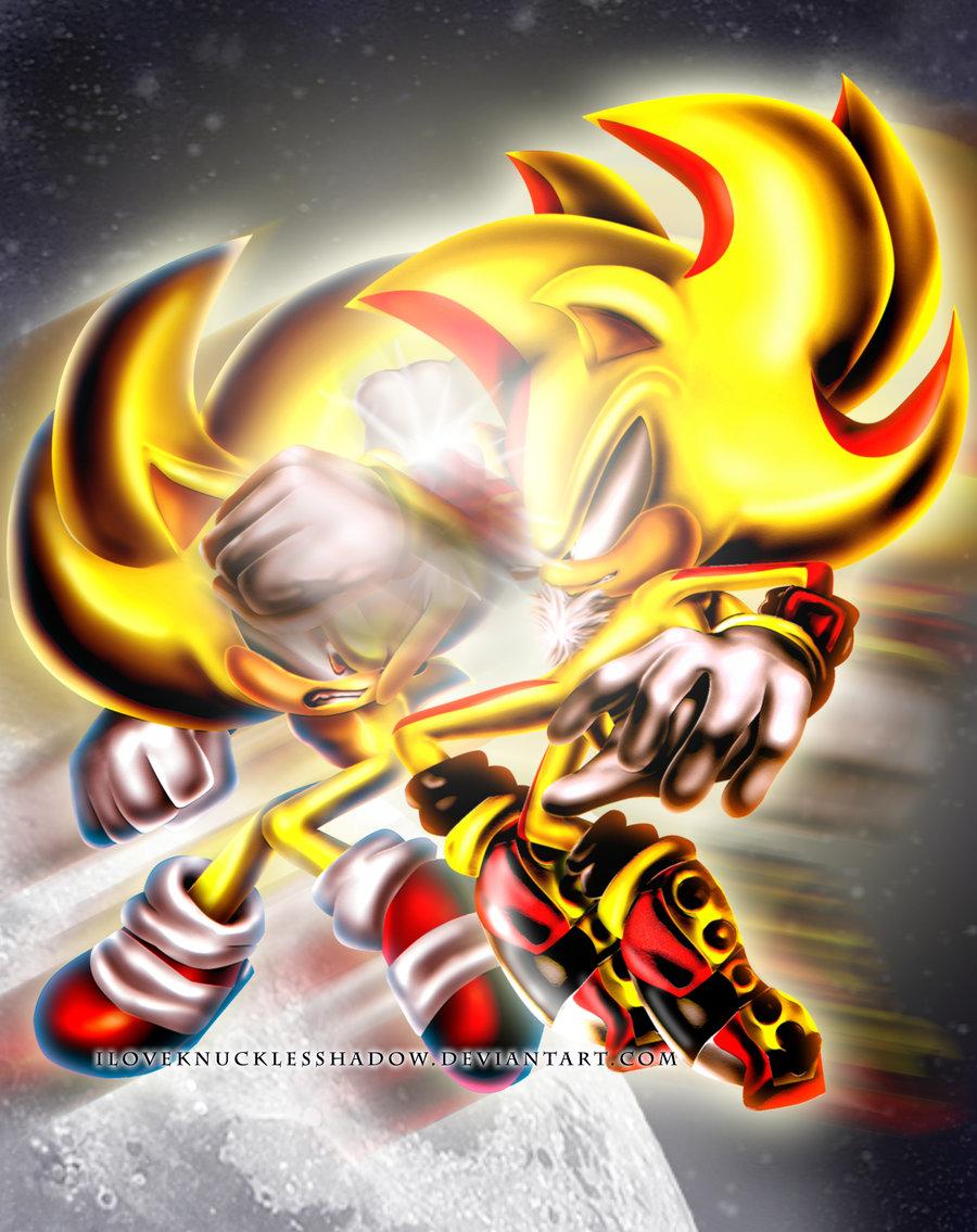 sonic vs shadow images Super VS Super HD wallpaper and ...