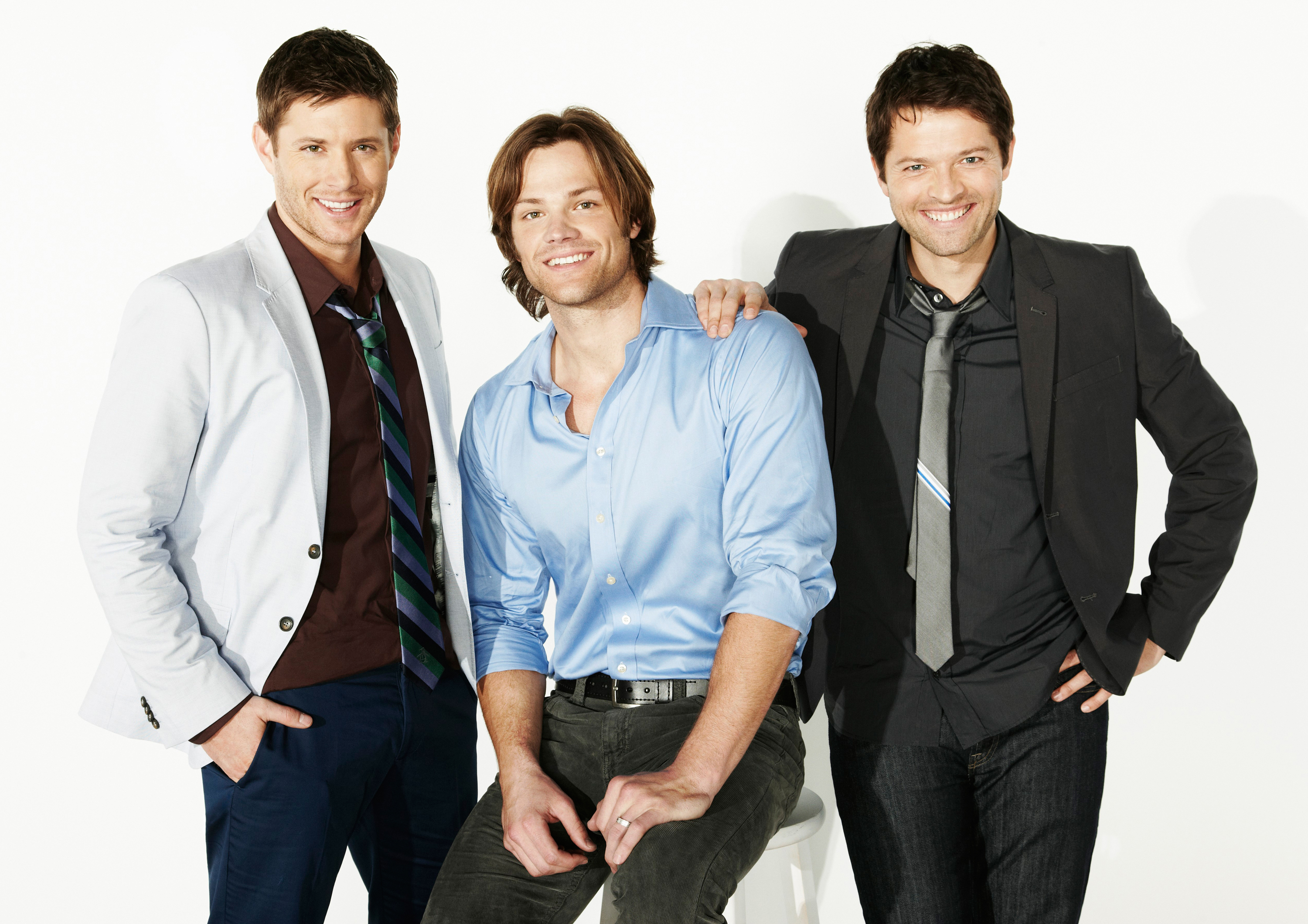 Jared Padalecki Misha Collins Images TV GUIDE HD Wallpaper And Background Photos