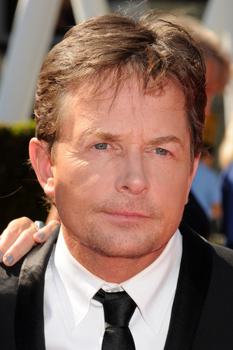 Michael J Fox wallpaper containing a business suit titled The 2012 Creative Arts Emmy Awards