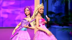 The barbie Princess and the Pop estrela