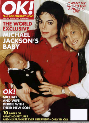 "The Jackson Family On The Cover Of ""OK"" Magazine"