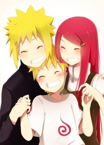 波風ミナト 壁紙 called The Namikaze family. ~