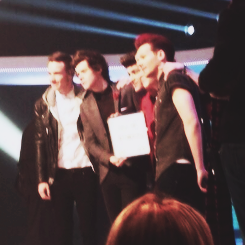 The boys at Comic Relief 3-15-13