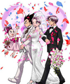 The marriage of Bulma - dragon-ball-females fan art