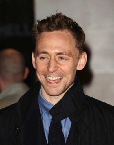 Tom at 'Book Of Mormon' West End opening night