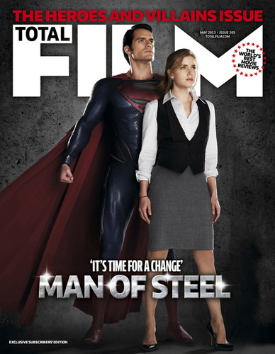 Total Film's Man Of Steel cover